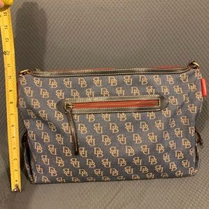 Authentic Dooney and Bourke Denim Hobo